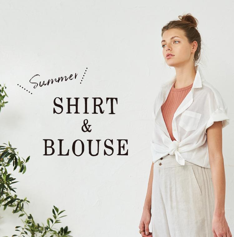 サマーシャツ&サマーブラウス