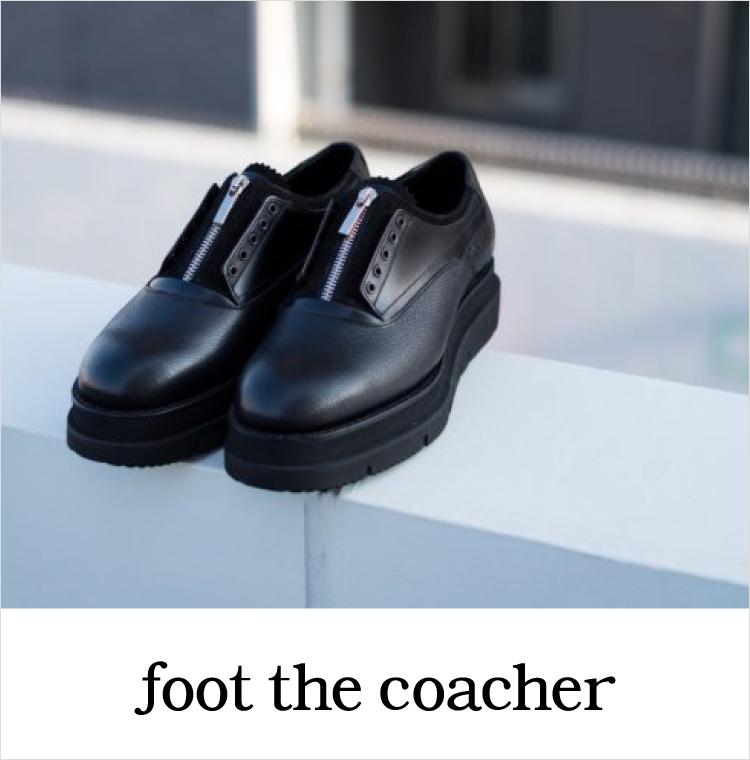 フットザコーチャー, foot the coacher