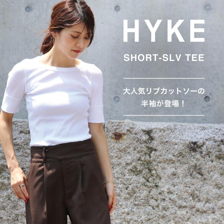HYKE(ハイク)のリブカットソー