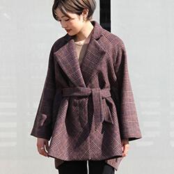 muller of yoshiokubo×PARIGOT 限定コラボバイアスケープコートが待望の入荷♡