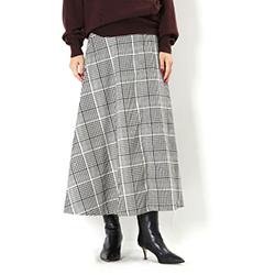今年GETしたいのはやっぱりチェック柄!上品なミモレ丈がたまらない新作スカート入荷しました!