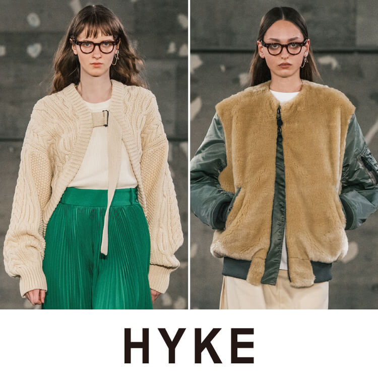 HYKE 2019FW COLLECTION