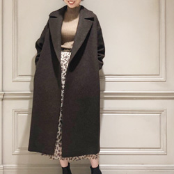 RIM.ARK(リムアーク),Relax loose gown coatが再登場!