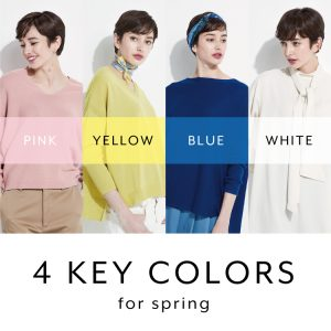 4 KEY COLORS for Spring