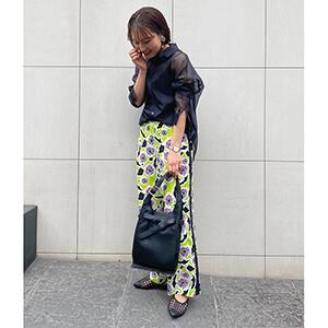 """【ブログリレー】第6回「服を着るならこんなふうに""""春のシアーアイテム""""編」#骨格ナチュラル#オータム"""""""
