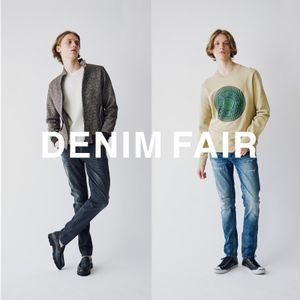 【MEN】DENIM FAIR